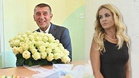 Babiš koupil jiné ženě víc růží než Monice. Sousedku obdaroval i marmeládou