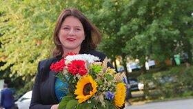 Jana Maláčová (ČSSD) dorazila na akci Země živitelka