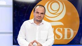 Místopředseda ČSSD Michal Šmarda byl hostem pořadu Epicentrum 22.8.2019.