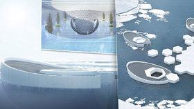 """""""Ledovcová miminka"""" mají zachránit svět před potopou. Vytvářela by je ponorka"""