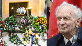 Pohřeb Vojmíra Srdečného: Poslední přeživší z koncentračního tábora Sachsenhausen zemřel ve věku 99 let