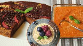 Recepty z broskví a meruněk.