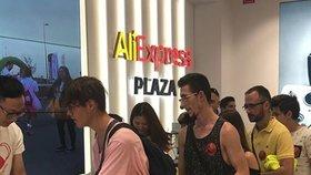 Aliexpress otevřel svůj první obchod v Evropě: Nedaleko španělského madridu