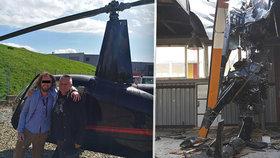 Vyšetřování odhalilo, že Kajínkův kamarád pilotoval vrtulník opilý.