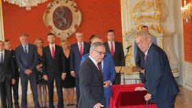 Prezident Miloš Zeman jmenoval Lubomíra Zaorálka ministrem kultury