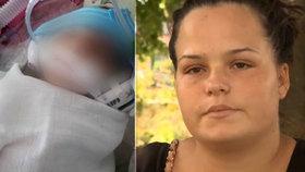 Dominika přišla o syna Samuela jen dva dny po porodu.