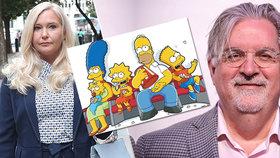 Virginia Robertsová Giuffreová (35) prý musela na rozkaz pedofilního finančníka masírovat plesnivé nohy tvůrce seriálu Simpsonovi.