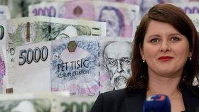 Důchody stoupnou o 900 korun, proč ne víc?