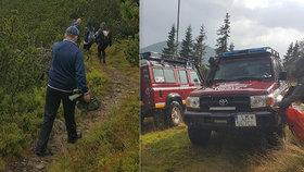Zásah Horské záchranné služby v Nízkých Tatrách. Elektrický výboj tam zranil pět lidí.