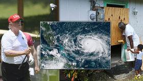 Američané se připravují na úder hurikánu Dorian.