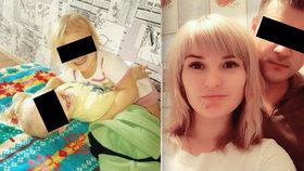 Děti byly doma samy 11 dní! Jedly tapetu a omítku: Máma Vladislava (23) se u soudu smála a tleskala.