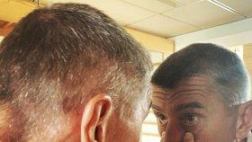 Andrej Babiš se podíval do zrcadla před tím, než v pondělí 2. září 2019 oslavil 65 let