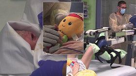 Mozkově mrtvá maminka Eva porodila zdravou holčičku: Co všechno museli lékaři udělat?