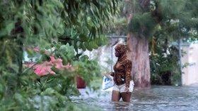 Hurikán Dorian zpustošil Bahamy.