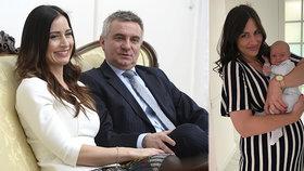 Alex Mynářová ukázala na sociálních sítích měsíčního syna Viktora