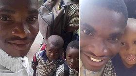 Neuvěřitelný příběh afrického studenta: Žil na ulici, ale nyní učí ve škole. Pomohla mu Češka.