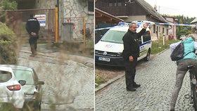 Policie uzavřela ulici, v níž mělo dojít ke dvěma úmrtím.