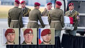 Češi padlí v Afghánistánu