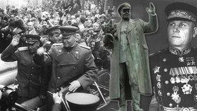Historik Petr Blažek popsal, co všechno osoba sovětského maršála Ivana Koněva představovala.