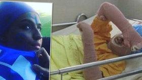Sociální sítě smutní: Žena (†29), která se zapálila, protože nesměla sledovat fotbal, zemřela