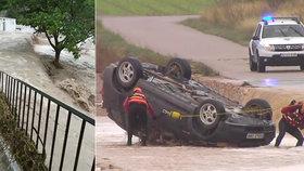 Ničivé záplavy na jihu a východě Španělska.