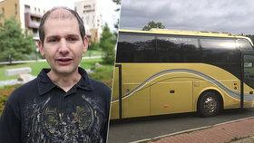 Inženýr Ivo duchapřítomně zachránil autobus.