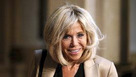 První dáma Francie Brigitte Macronová