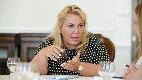 Ministryně pro místní rozvoj Klára Dostálová (ANO) v rozhovoru pro Blesk Zprávy o sociálním bydlení.