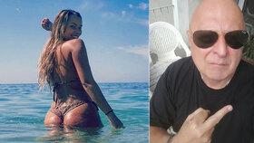 Margarida Aranhaová (26) už na svého exsnoubence Miloše Kanta (62) rozhodně nemyslí.