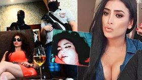 Claudia Ochoaová Felixová alias Královna Antraxu byla nalezena mrtvá.