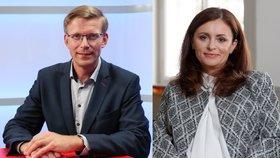 Martin Kupka (ODS) a Jaroslava Pokorná Jermanová (ANO) budou soupeři v krajských volbách 2020.