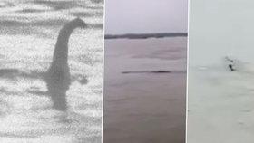 """Čínská """"Nessie"""" neexistuje, oznámili zklamaní nadšenci. Na hladině řeky plul airbag."""