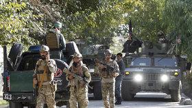 Islamistické hnutí Tálibán zaútočilo na Afghánistán.