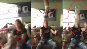 Dívka hází s pejskem jako s kusem hadru: Měla by trpět stejně jako ten pes, zuří lidé