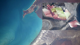 Snímky, které zahřejí u srdce. Astronautka pořídila fotografie Země z vesmírné stanice.