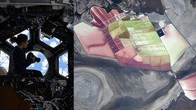 Astronautka Christina Kochová nabídla čarovný pohled na planetu Zemi.