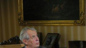 Prezident Miloš Zeman v pořadu S prezidentem v Lánech (22. 9. 2019)