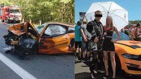 Táta posadil syna (12) k řidiči smrti a začal závod! Svědci popsali tragickou nehodu mustangu u Špindlu