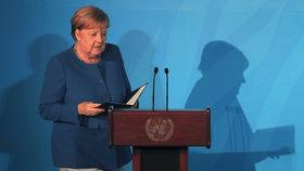 Klimatický summit OSN v New Yorku: Německá kancléřka Angela Merkelová (23. 9. 2019)
