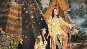 2013 -  Proměny: Karel Gott s Ivanou jako Vinnetou a Ribanna
