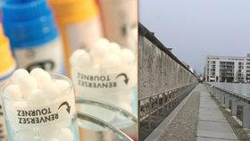 Budovatelé Berlínské zdi pravděpodobně nečekali, že se jednou bude využívat v homeopatii.