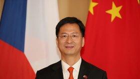 Čínský velvyslanec v Praze Čang Ťien-min (25. 9. 2019)