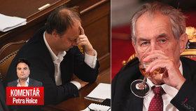 Zeman zůstane prezidentem, Láska ho do důchodu nepošle.