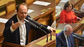 Láska o debaklu ve Sněmovně a opoziční špíně
