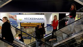 Pobočka cestovní kanceláře Neckermann