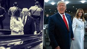 Prezident USA Donald Trump s manželkou Melanií na Valném shromáždění OSN