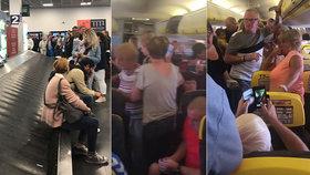 Let trval 12 hodin. V Dublinu pak cestující museli čekat na zavazadla dalších 45 minut