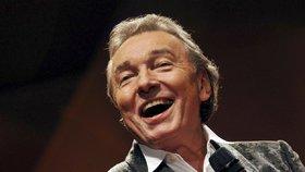 Milovaný zesnulý zpěvák Karel Gott