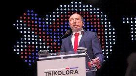Václav Klaus mladší, předseda Trikolory