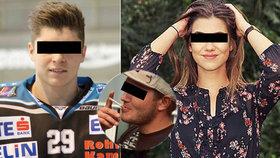 Andreas zabil svou expřítelkyni Nadine (†19) i jejího nového partnera, hokejistu Floriana (†24).